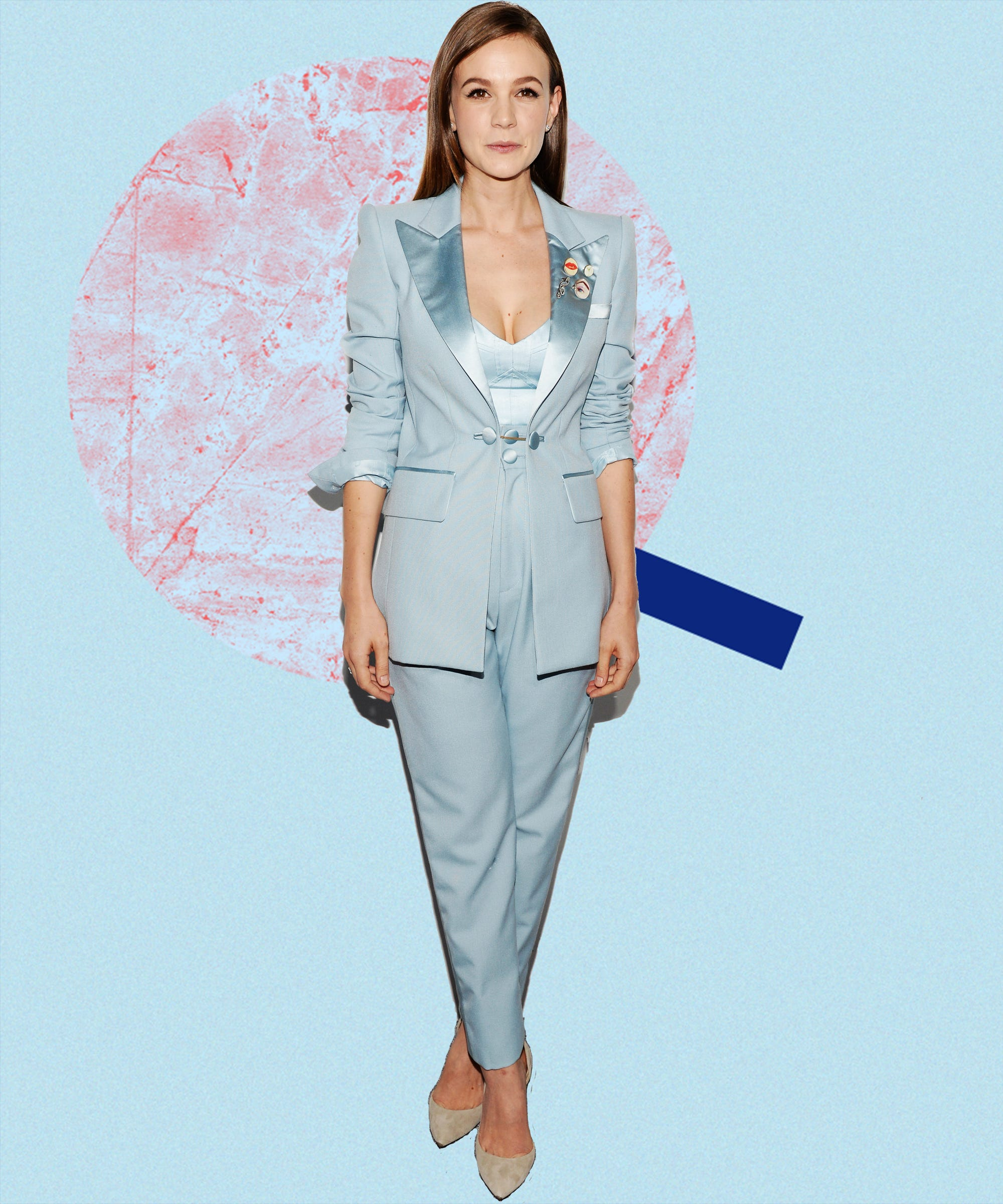 Celebrity Pantsuit Outfit Trend