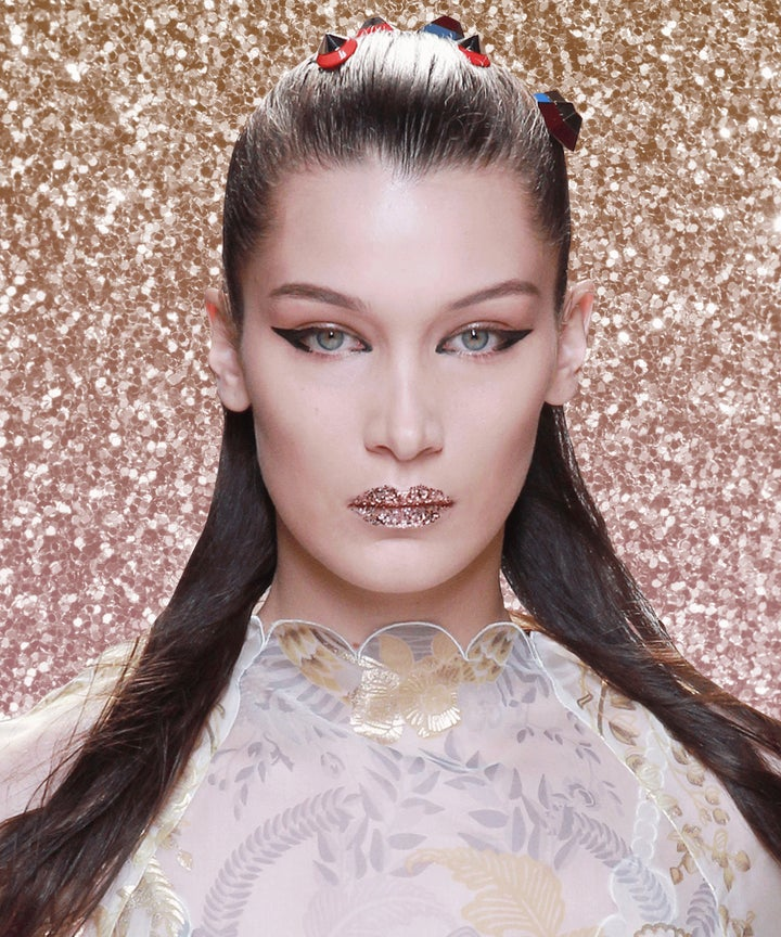 Fendi AW16 eye make-up