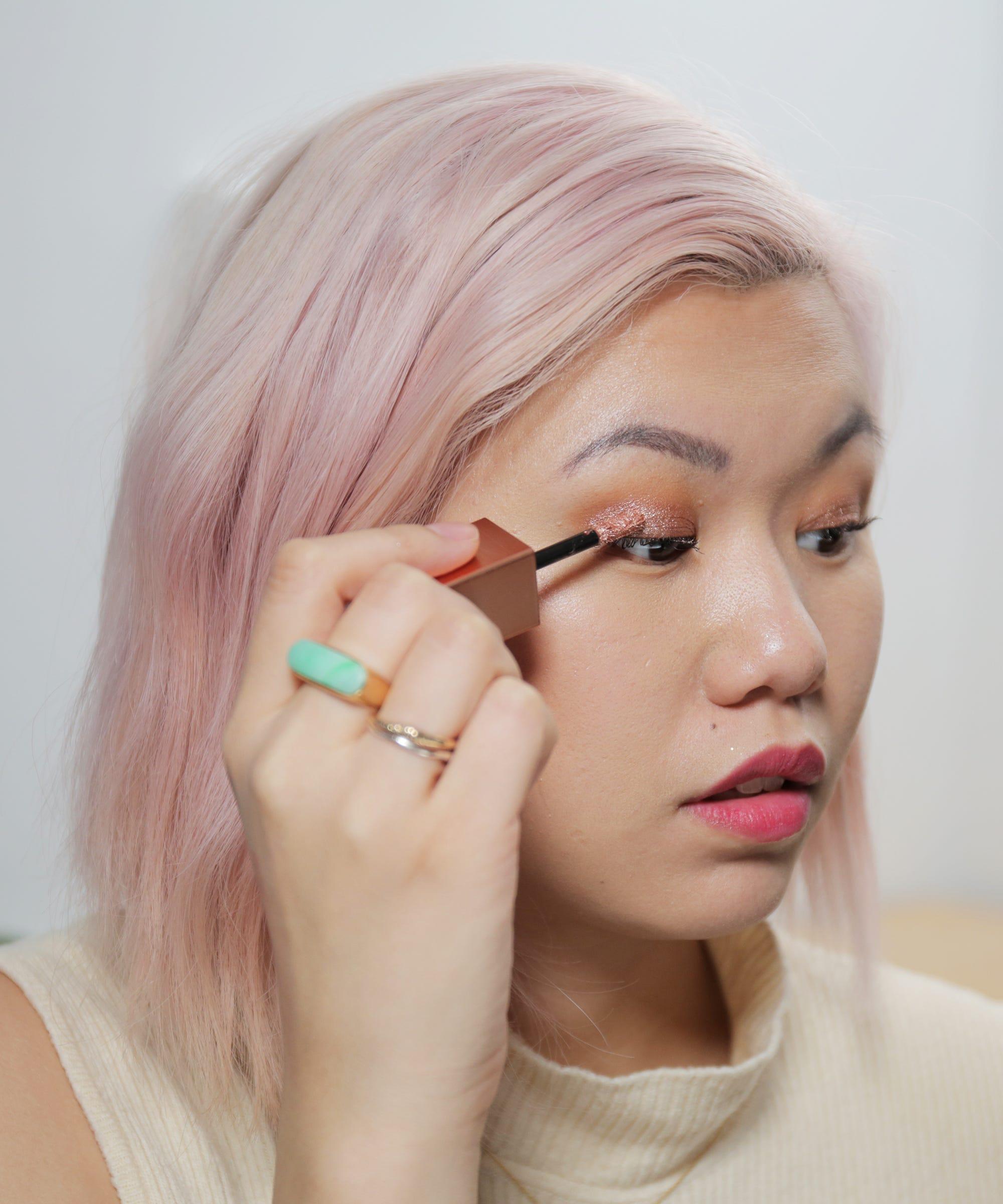 Best Glitter Eyeshadow Dupes Stila Elf Revlon Focallure And Glow Liquid