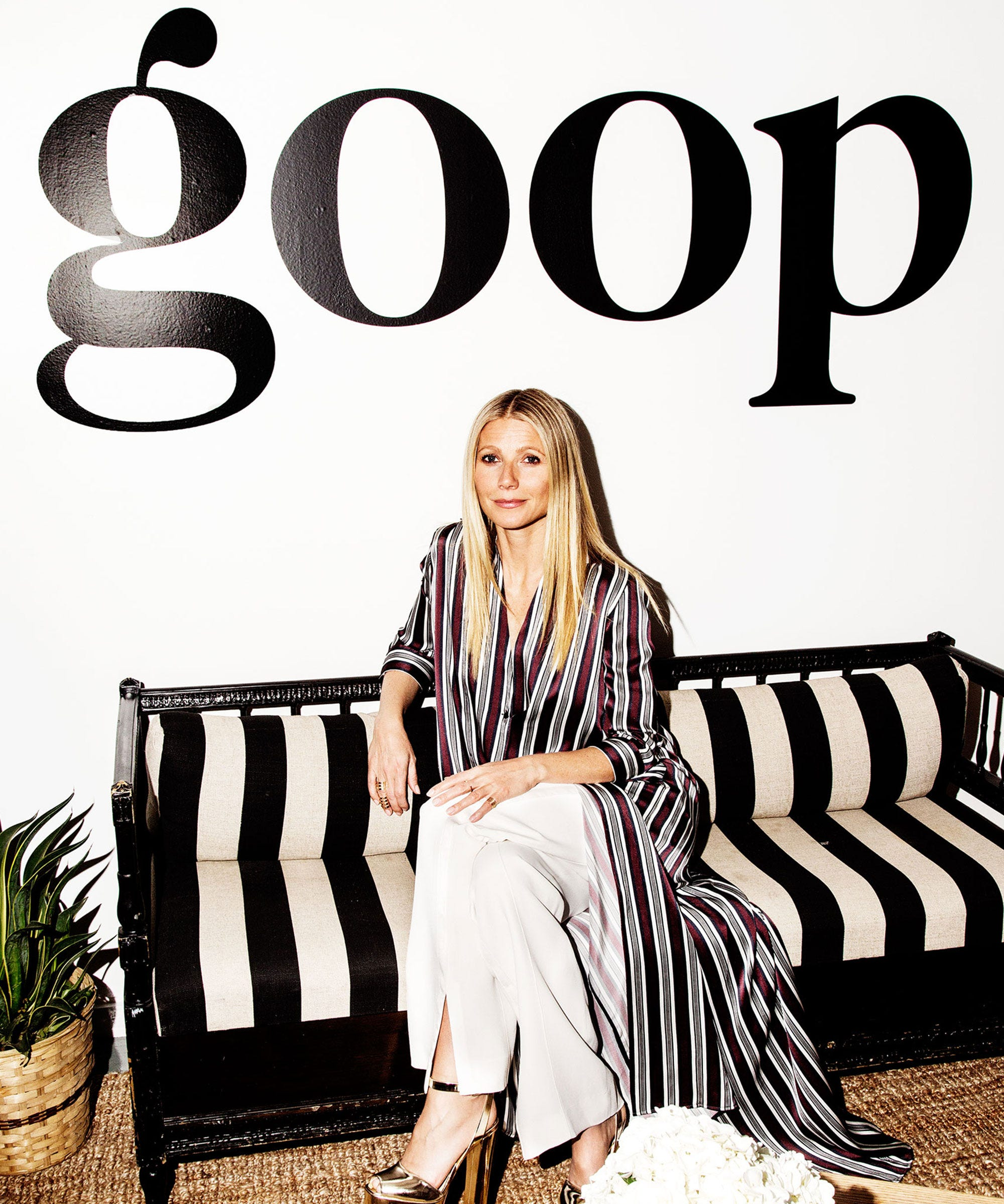 Image result for gwyneth paltrow goop cover