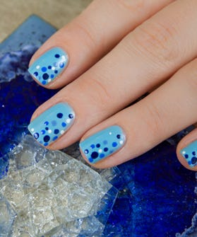 Cool Blogger Nails - How To Do Nail Art