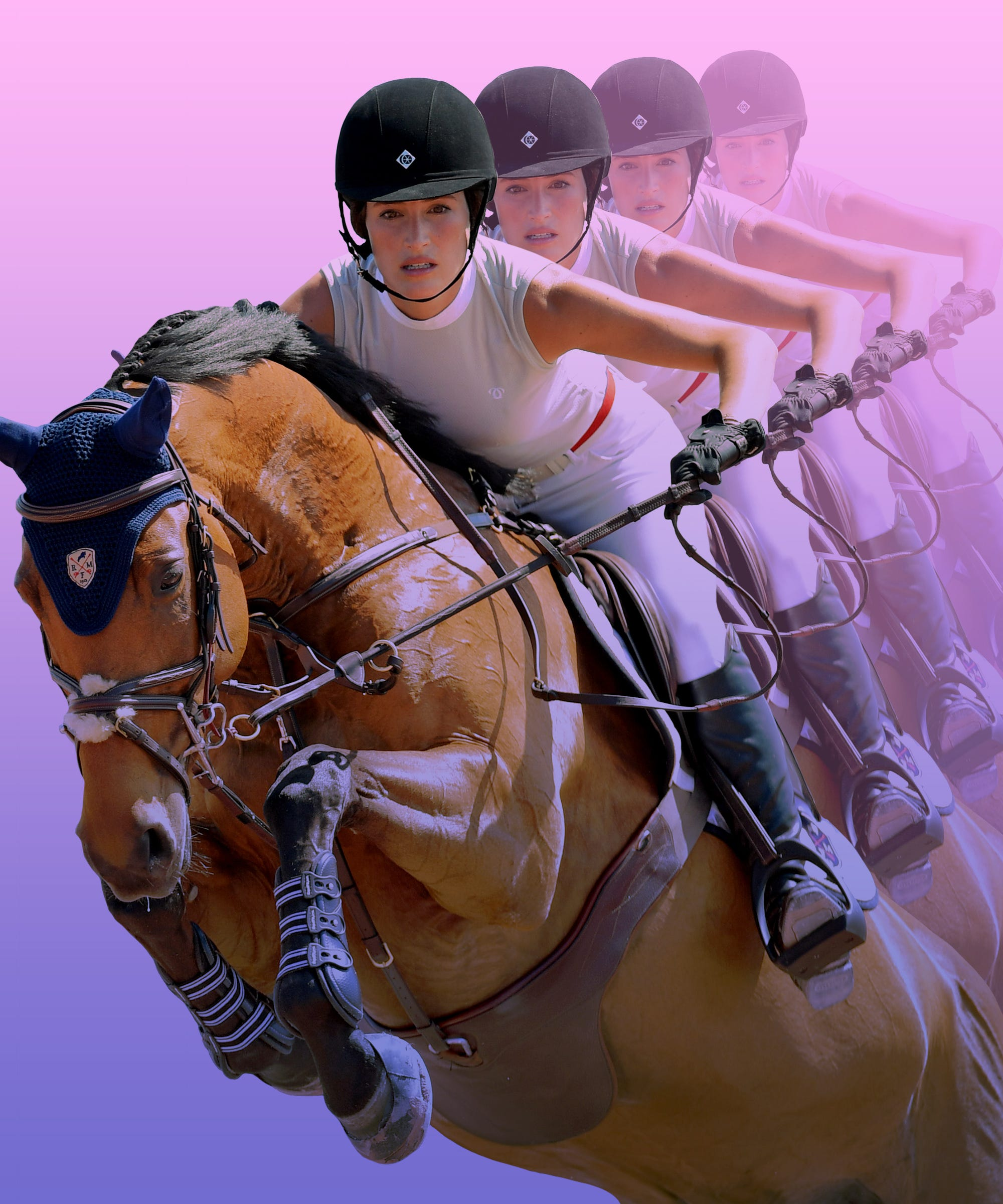 Star Equestrian Jessica Springsteen Hopes To Compete In Future Olympics