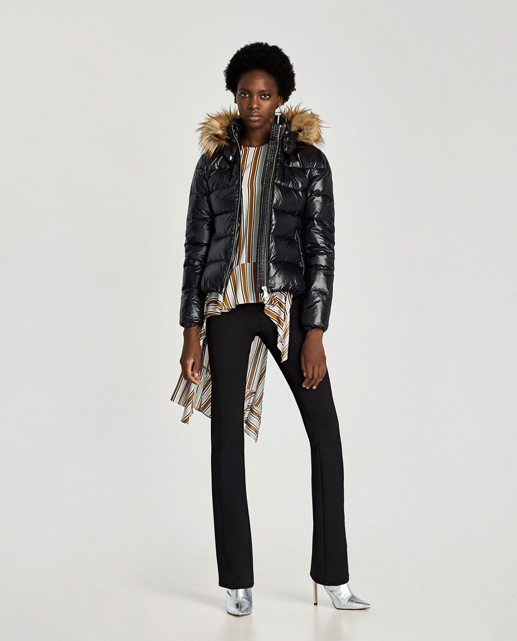 c9e90964 Zara Winter 2017 Best New Puffer Jacket Coats Shop Now