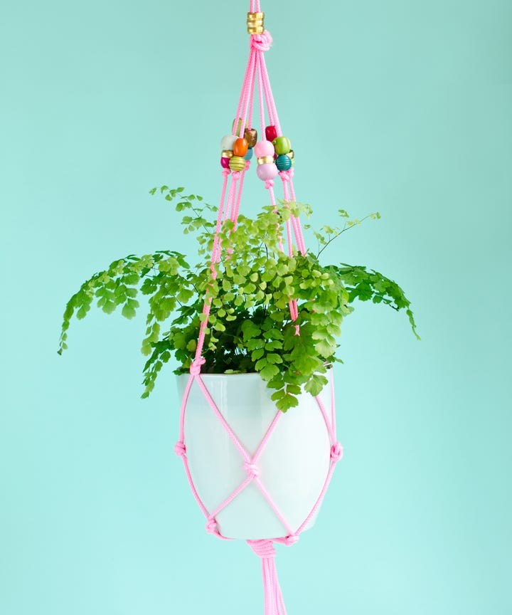 DIY Hanging Planter House Plants