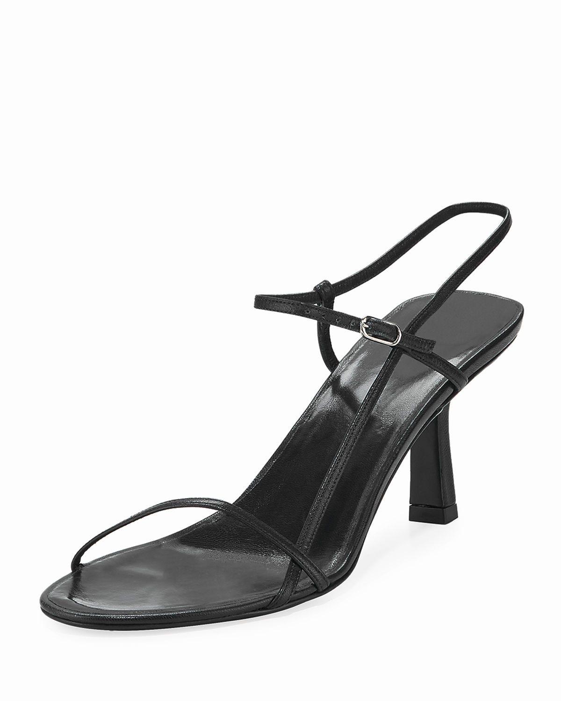 c9e95f287d895 Asymmetric Leather Sandals