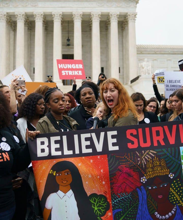 Do men belong at womens march washington dc