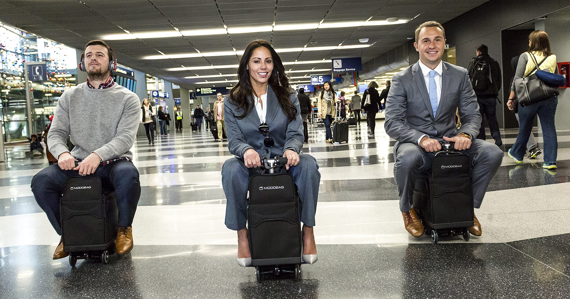 Now There's Motorized Luggage You Can Ride Around The Airport