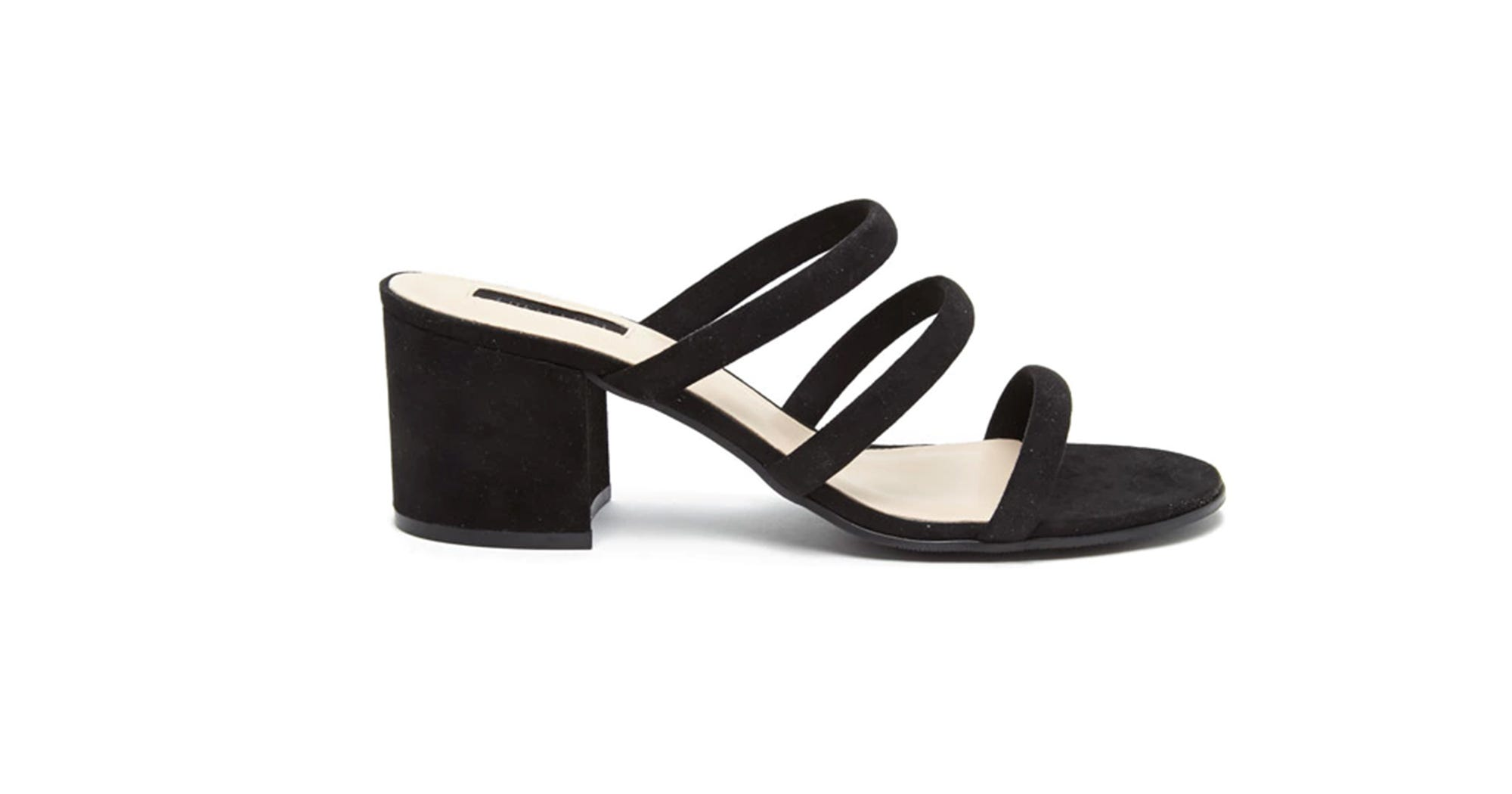 109bc60a8dc5 Forever 21 Strappy Mules - Affordable Summer Sandals