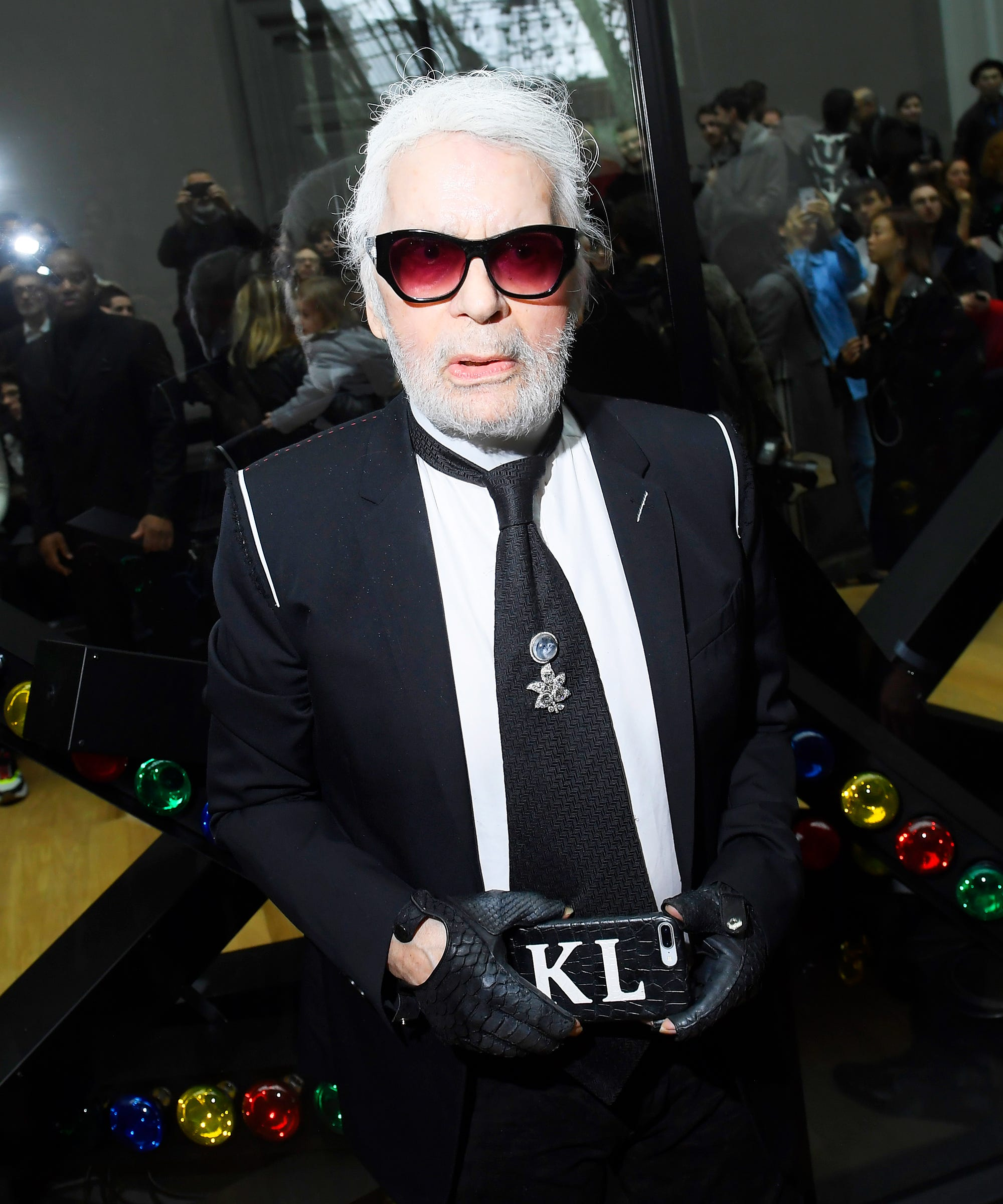 pictures Why Karl Lagerfeld Refuses to Go to a New Exhibit of His Work