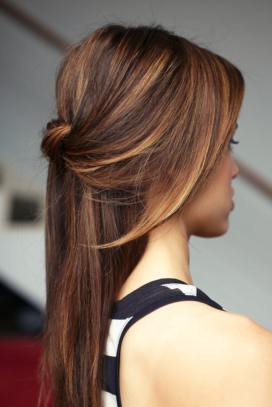 Chic DIY Cascading Knotted Half Updo Chic DIY Cascading Knotted Half Updo new pictures