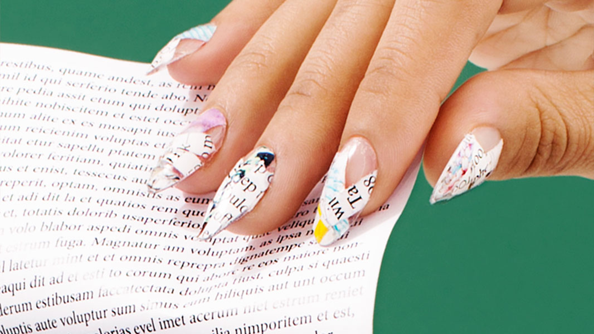 Crazy Nail Art - Weird Manicure Trends