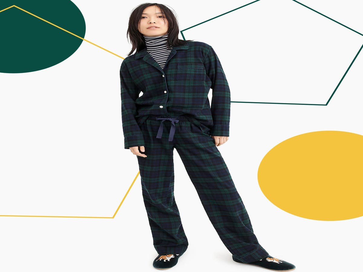 15 Pairs Of Flannel Pajamas To Hibernate In All Winter Long