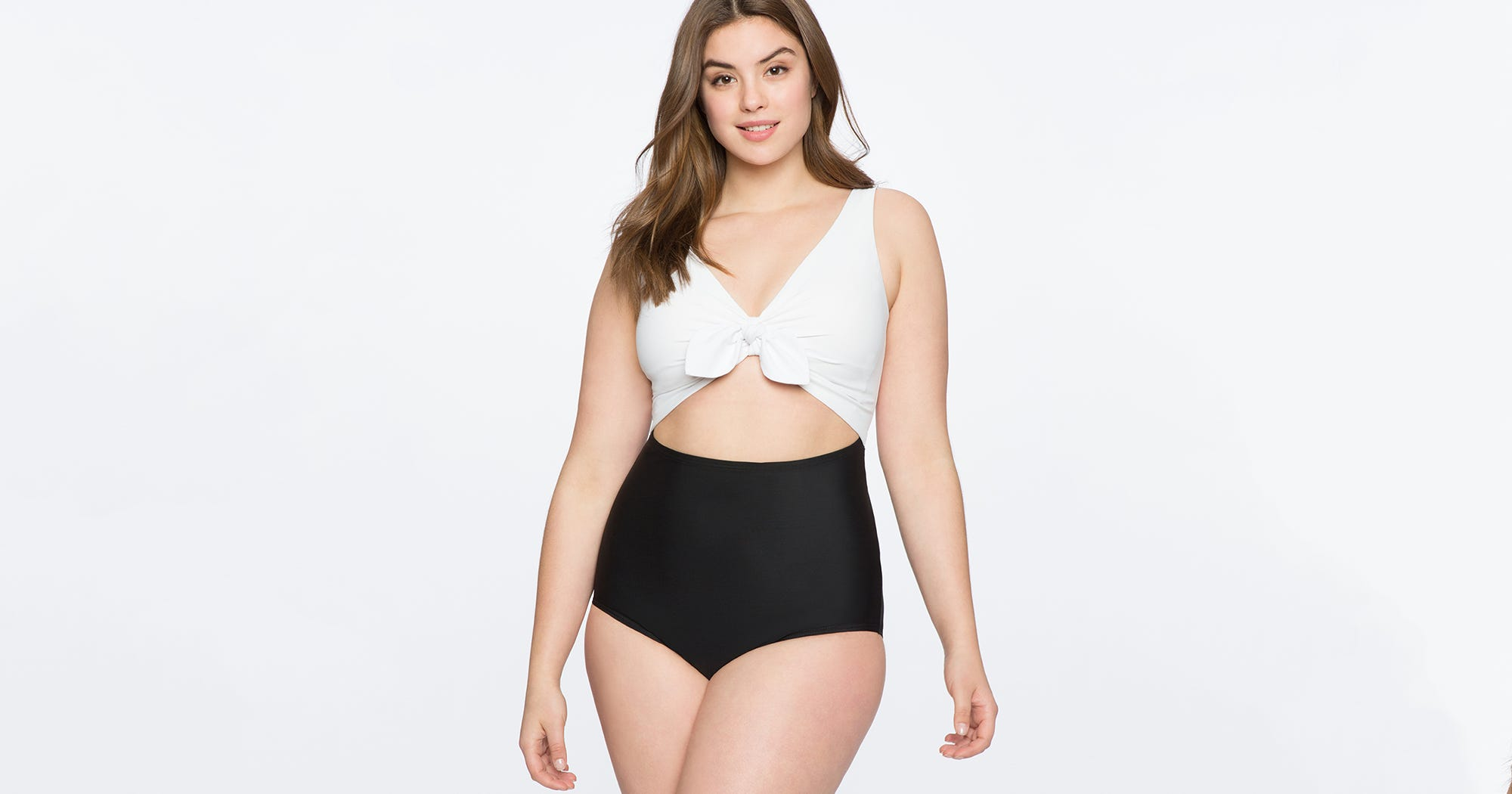 8892c9a5443 New Eloquii Cute Plus Size Women Swimsuits Collection