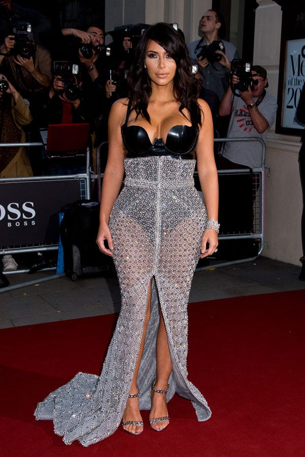 Kim kardashian nude lingerie 13
