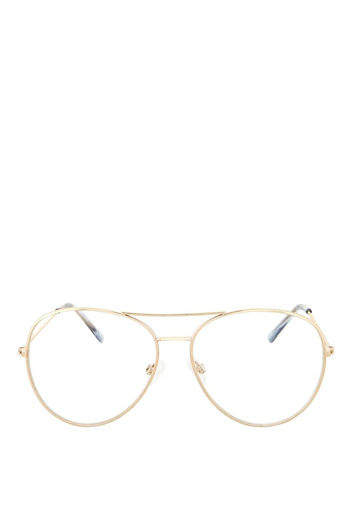 Clear Aviator Glasses Trend - Topshop Ray Ban Pacsun