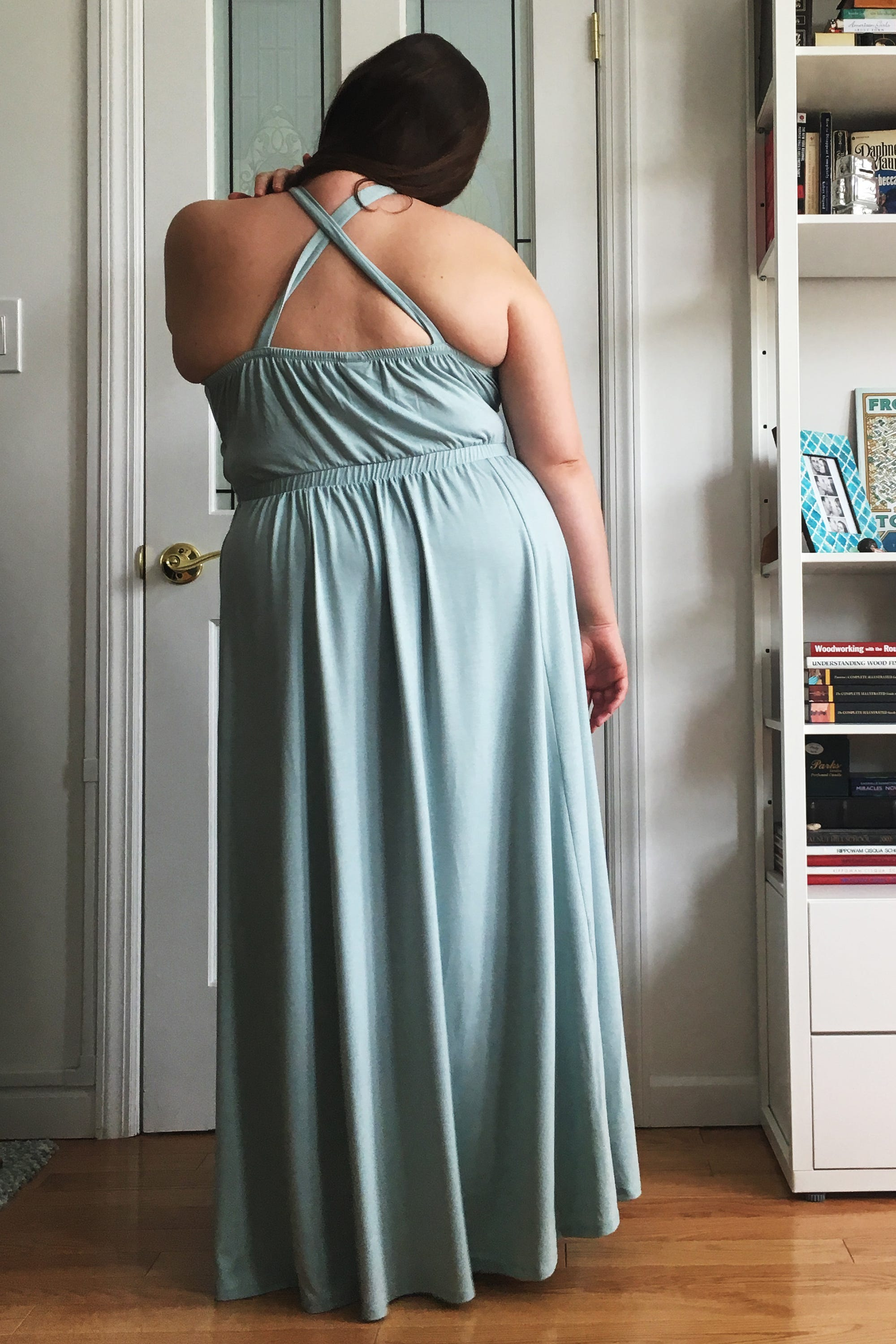 be1a5139be Plus Size Fashion Taboo Back Fat Backless Dress