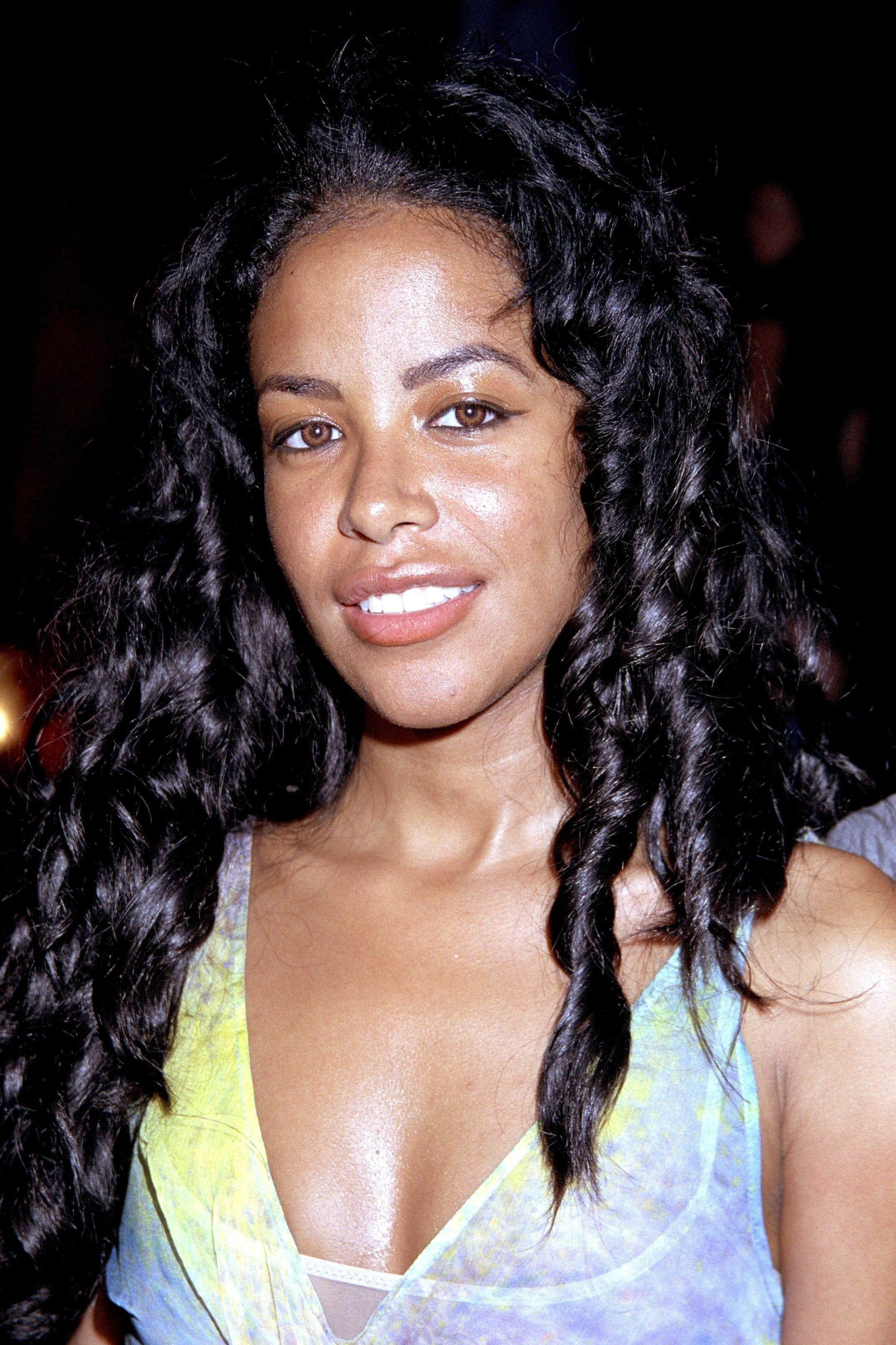 Tall black female singer