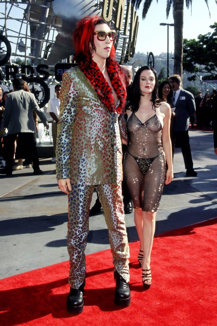 Rose McGowan Explains 1998 MTV VMAs Dress