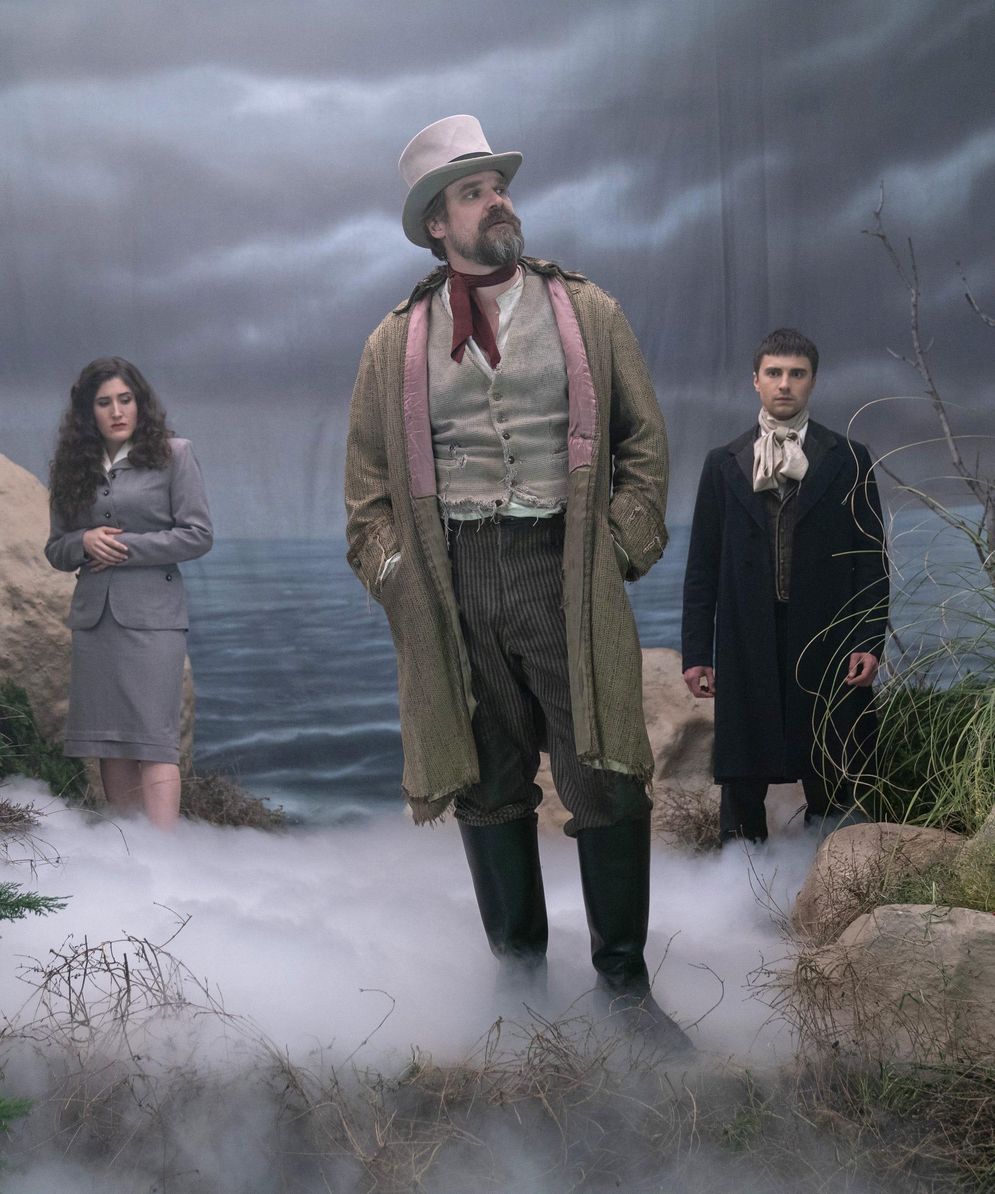 Netflix's David Harbour Special Frankenstein's Monster's Monster, Frankenstein Has A Very Interesting Cast