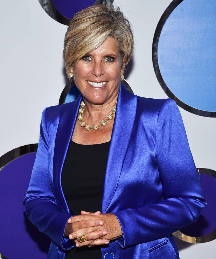Suze Orman Discusses Her New Podcast Women And Money