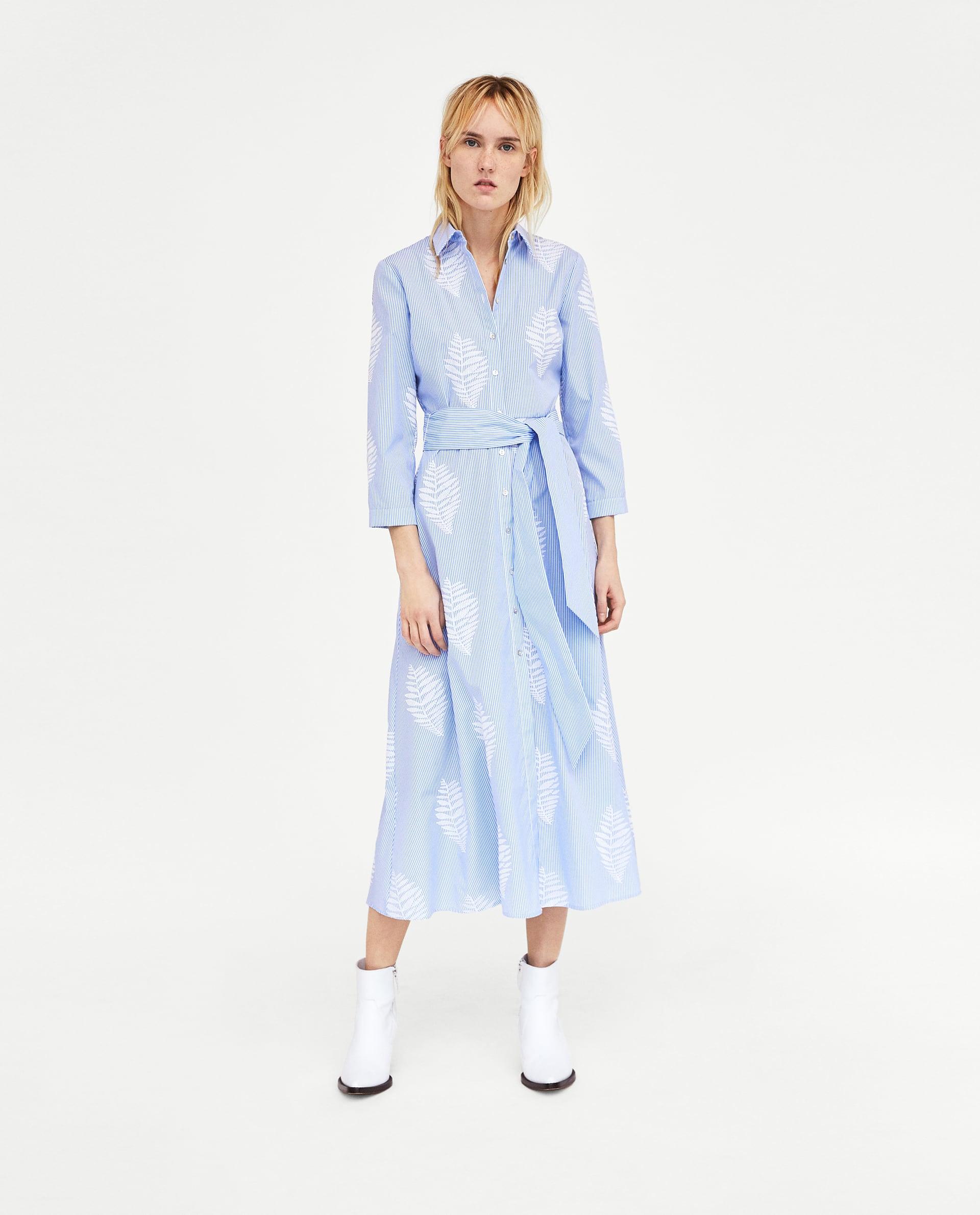6060e46f410d Zara Midi Dress Trend Dresses For Women