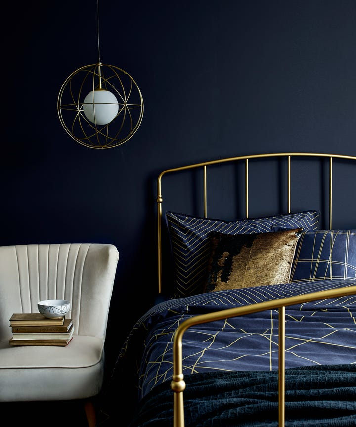 Dark Bedroom Colour Ideas For Sleep