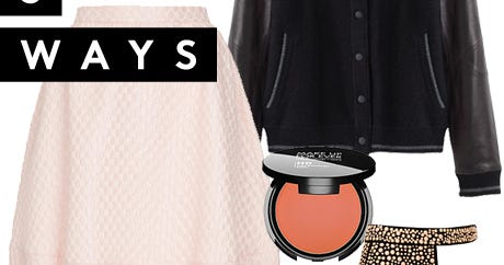 1 Piece, 3 Ways: A Varsity Jacket Tutorial