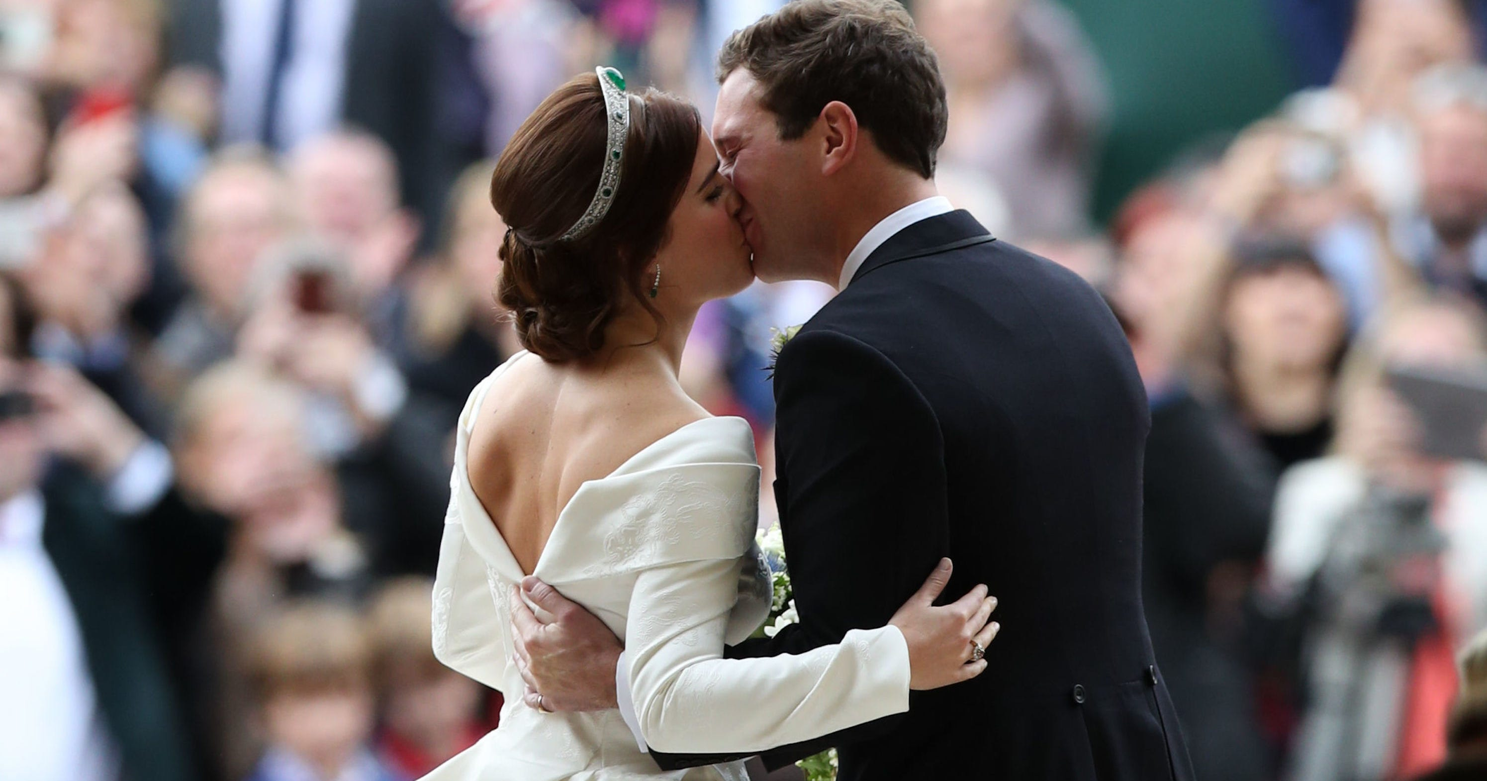 The Inspiring Reason Princess Eugenie Showed Off Her Back Scar At Her Wedding