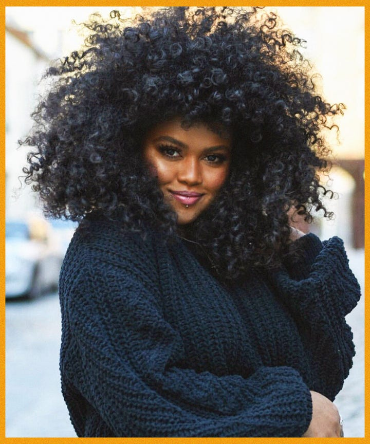 Curly Natural Haircuts Trending For Fall