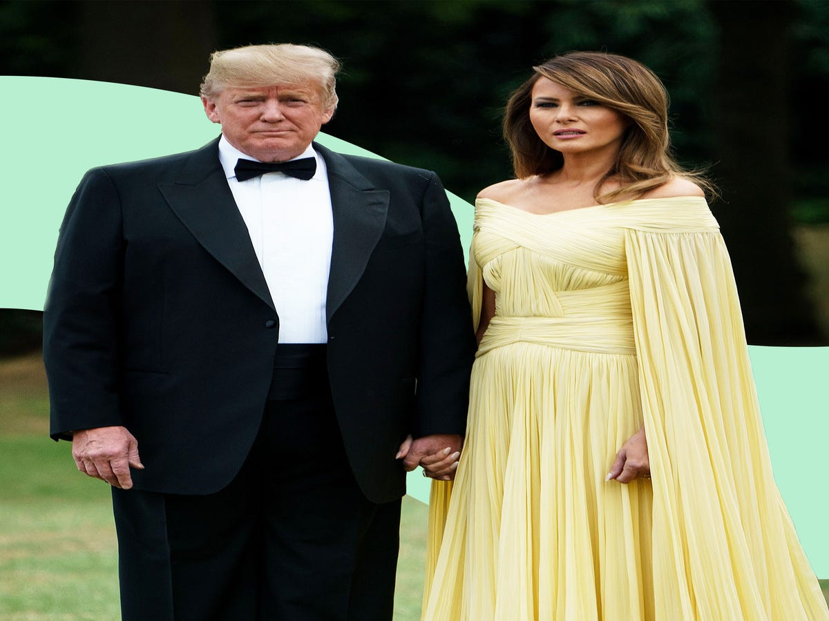 Does Melania Trump Use Fashion To Protest Her Husband?