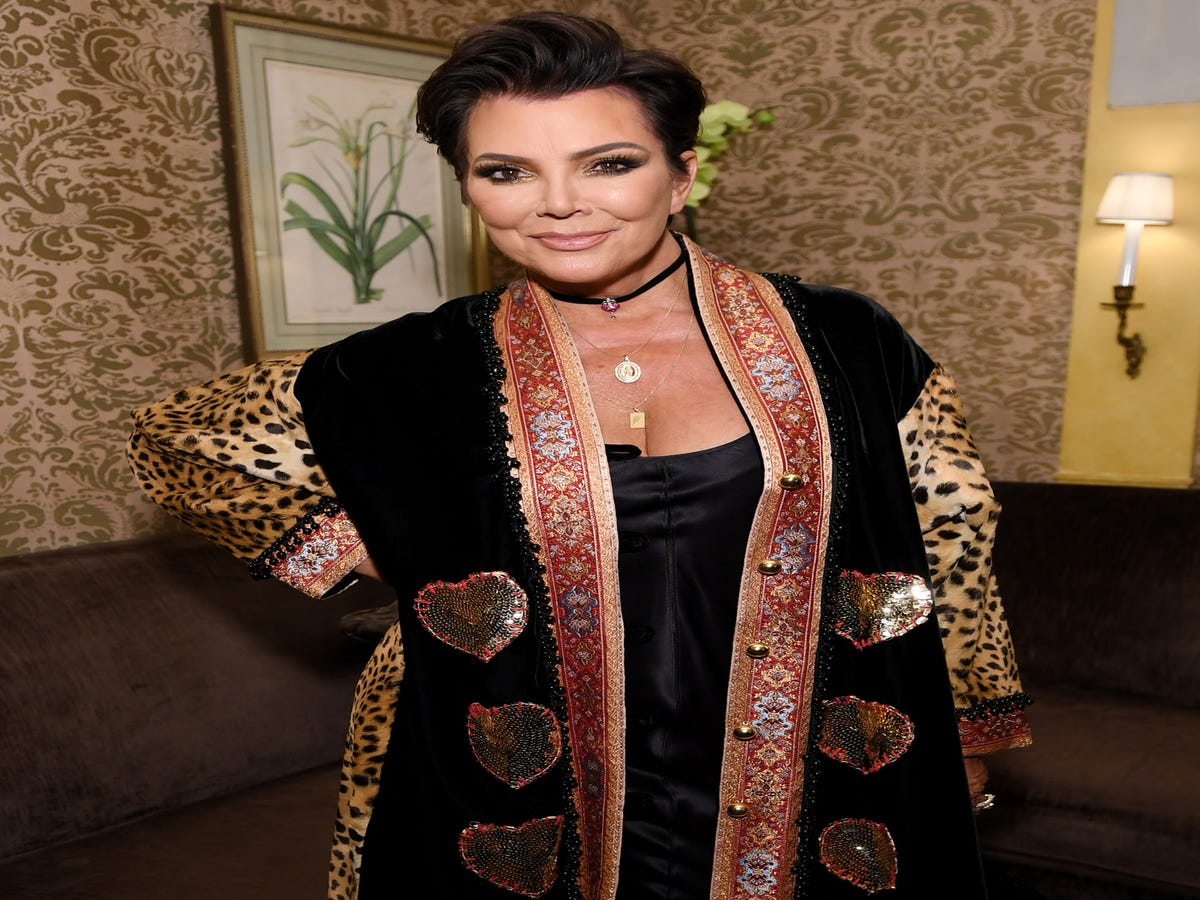 Kris Jenner Took Orders From Kylie For The Met Gala — & She Looks Unrecognizable