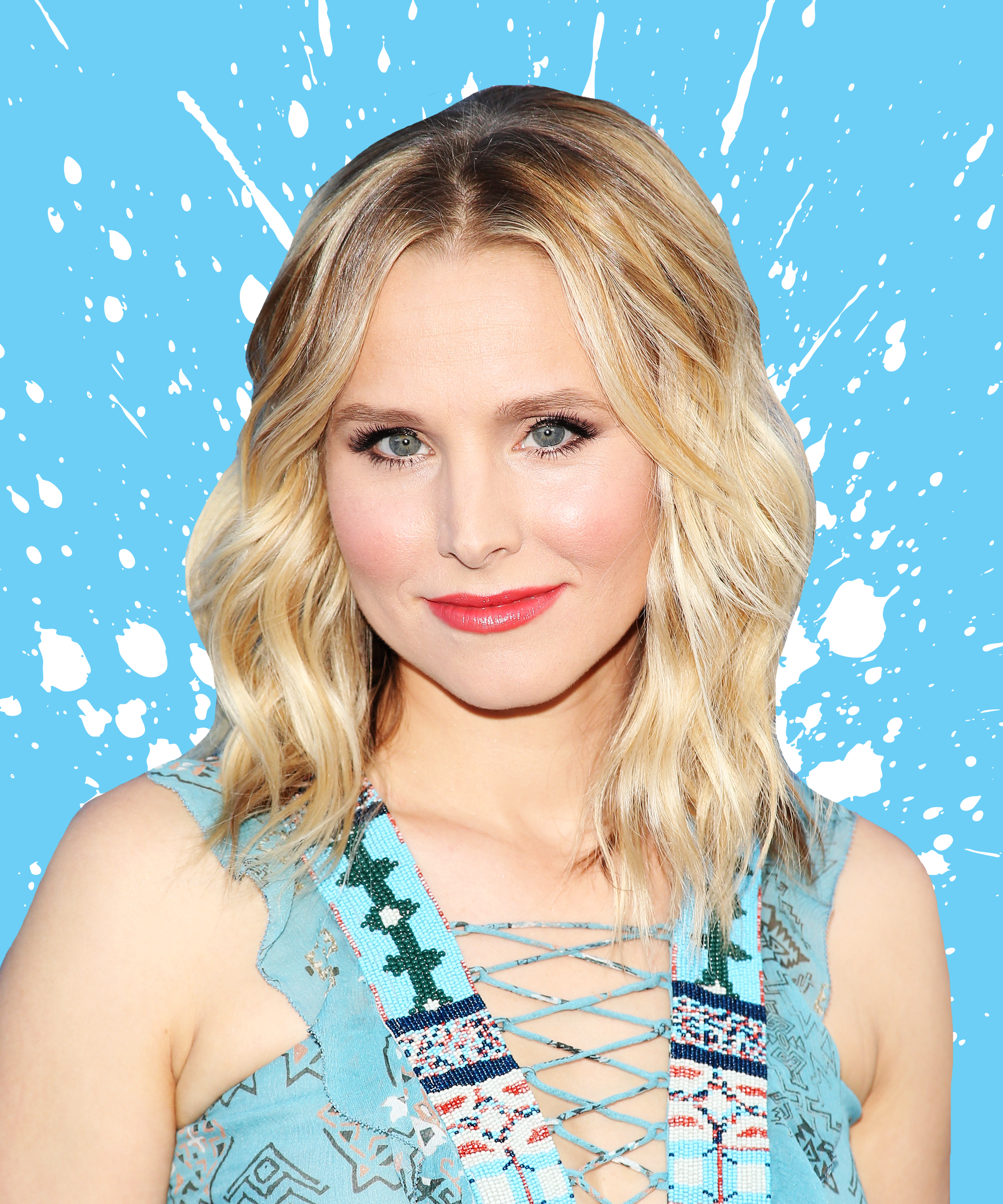 Kristen Bell Favorite Beauty Products Interview