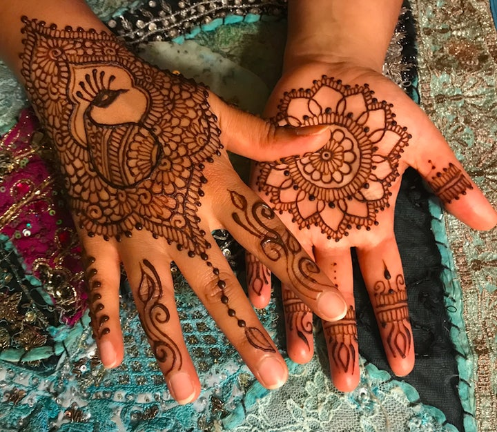 Priyanka Chopra Wedding Henna Tattoos Are So Meaningful