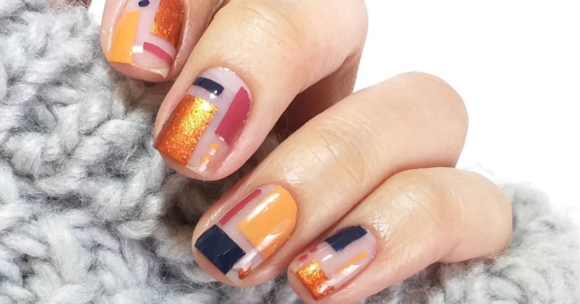 9 Simple Nail Art Looks To Impress All Your Relatives At Thanksgiving