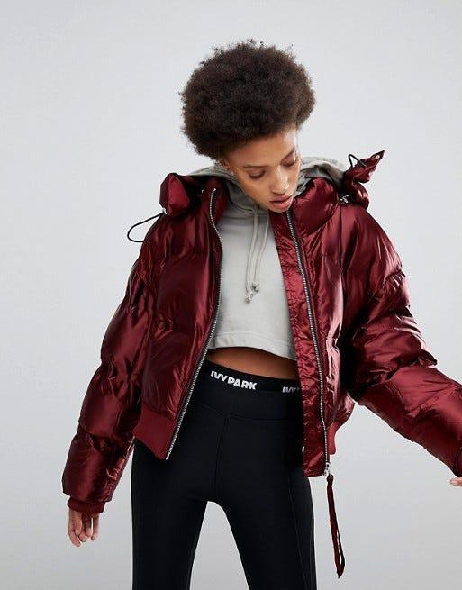f6944e8b8e505c Puffer Jackets Black Red Balenciaga