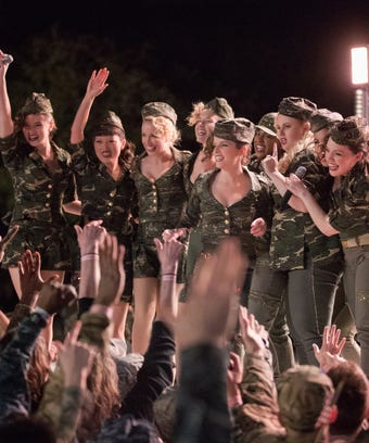 Pitch perfect 3 cast interview why important for women will there be a pitch perfect 4 the cast weighs in voltagebd Choice Image