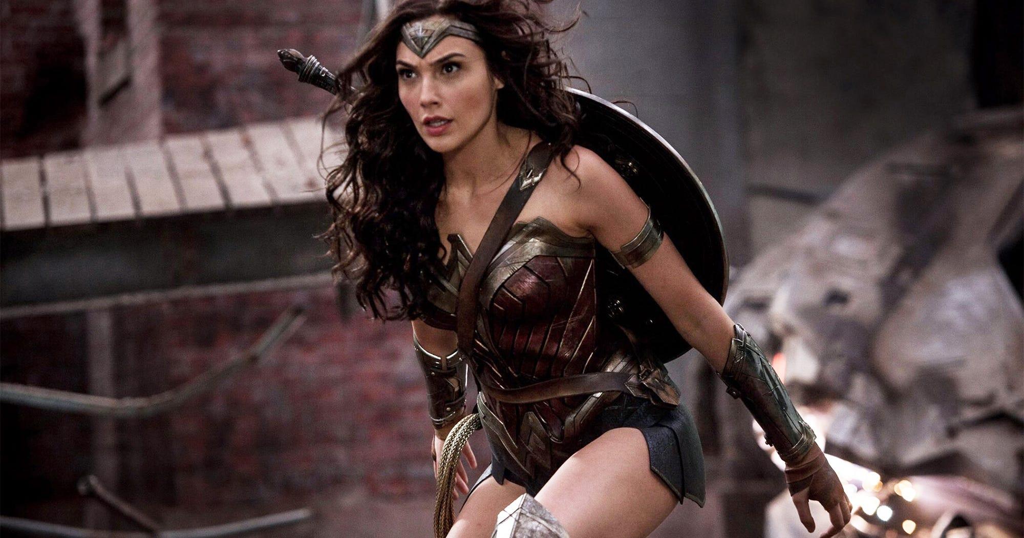 Wonder Woman Justice League Costume More Revealing