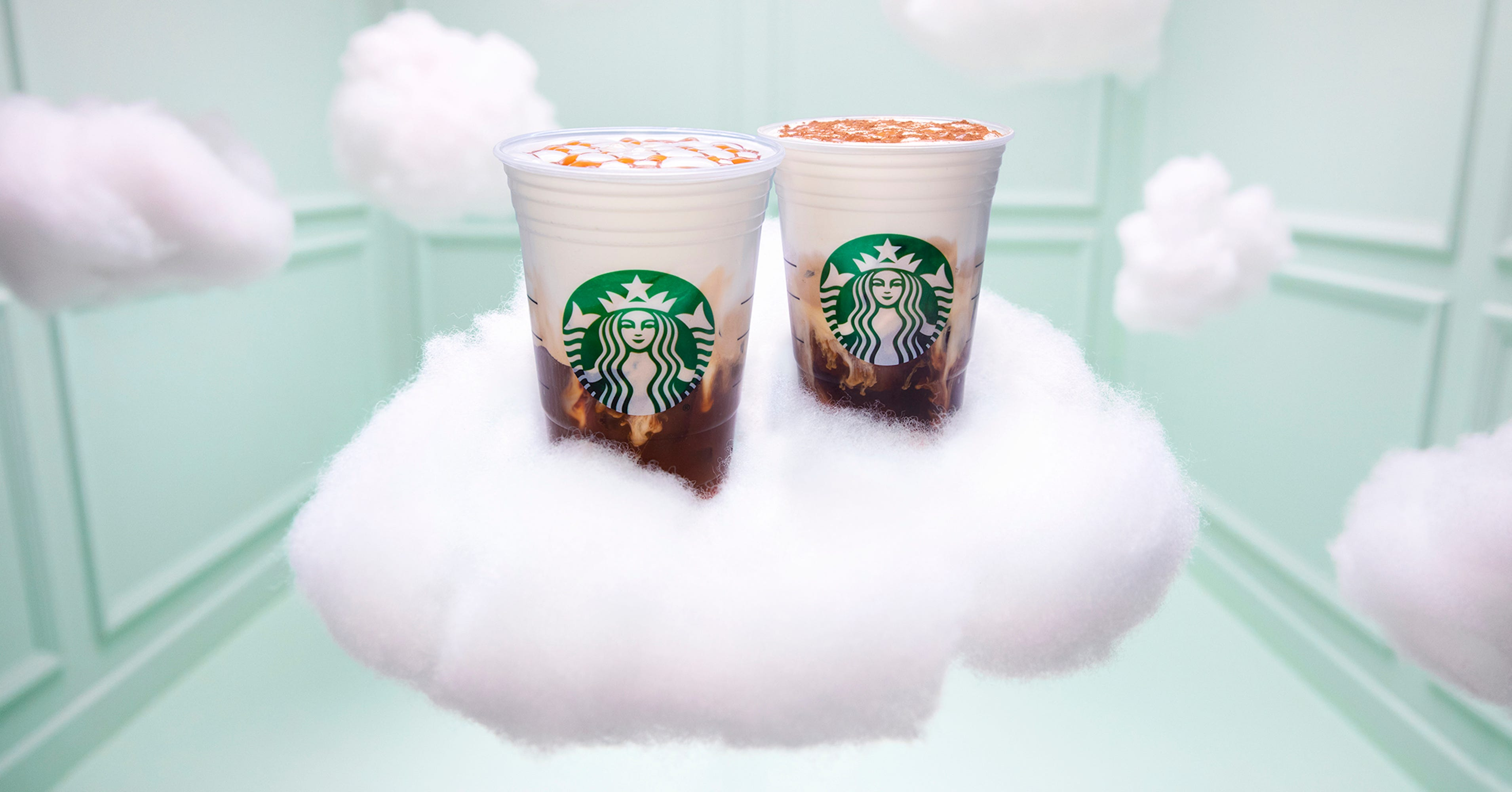 Starbucks Released The New Cloud Macchiato With Help From Ariana Grande