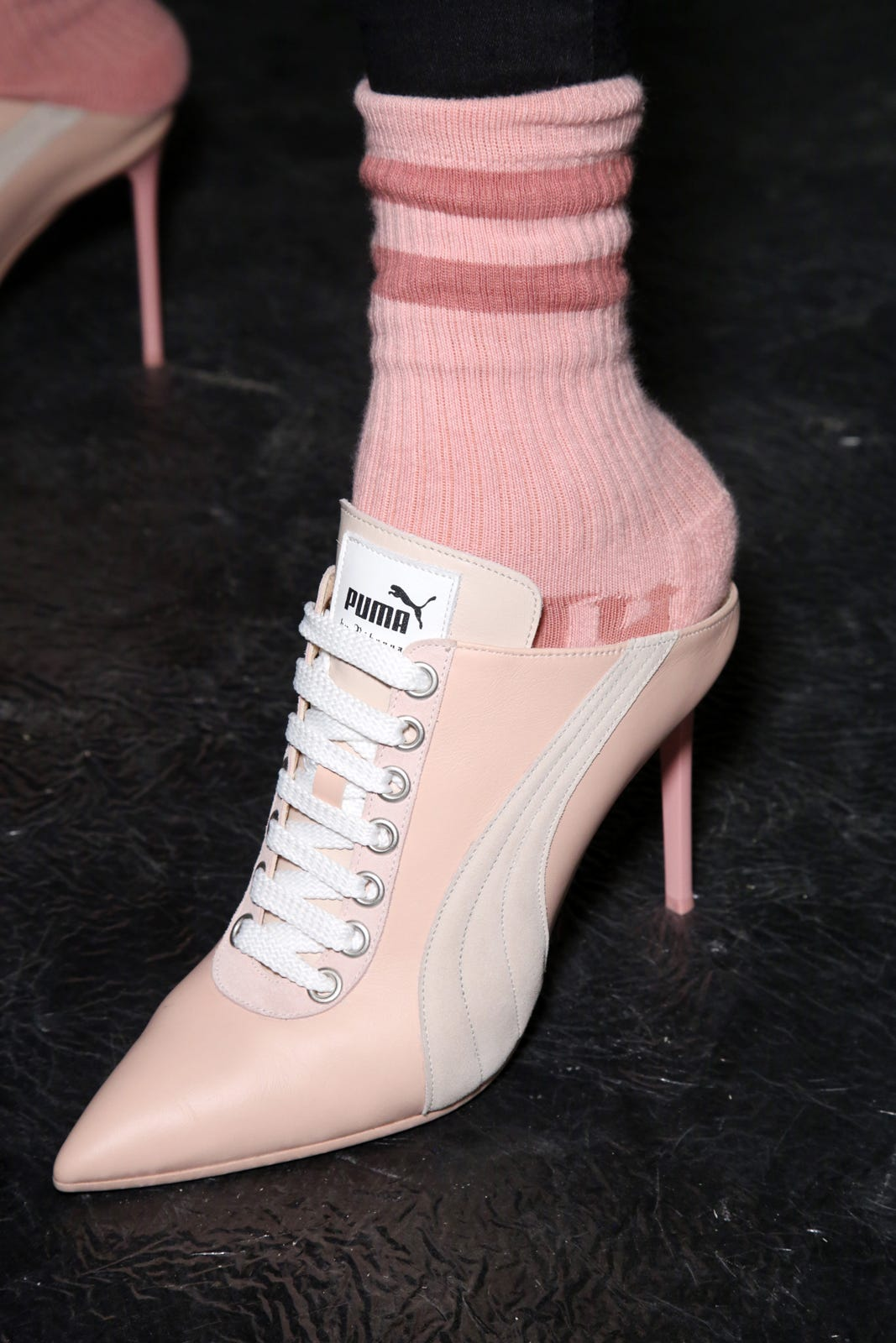 Rihanna Fenty Spring 2017 Puma Shoes Paris Fashion Week 4eca79489