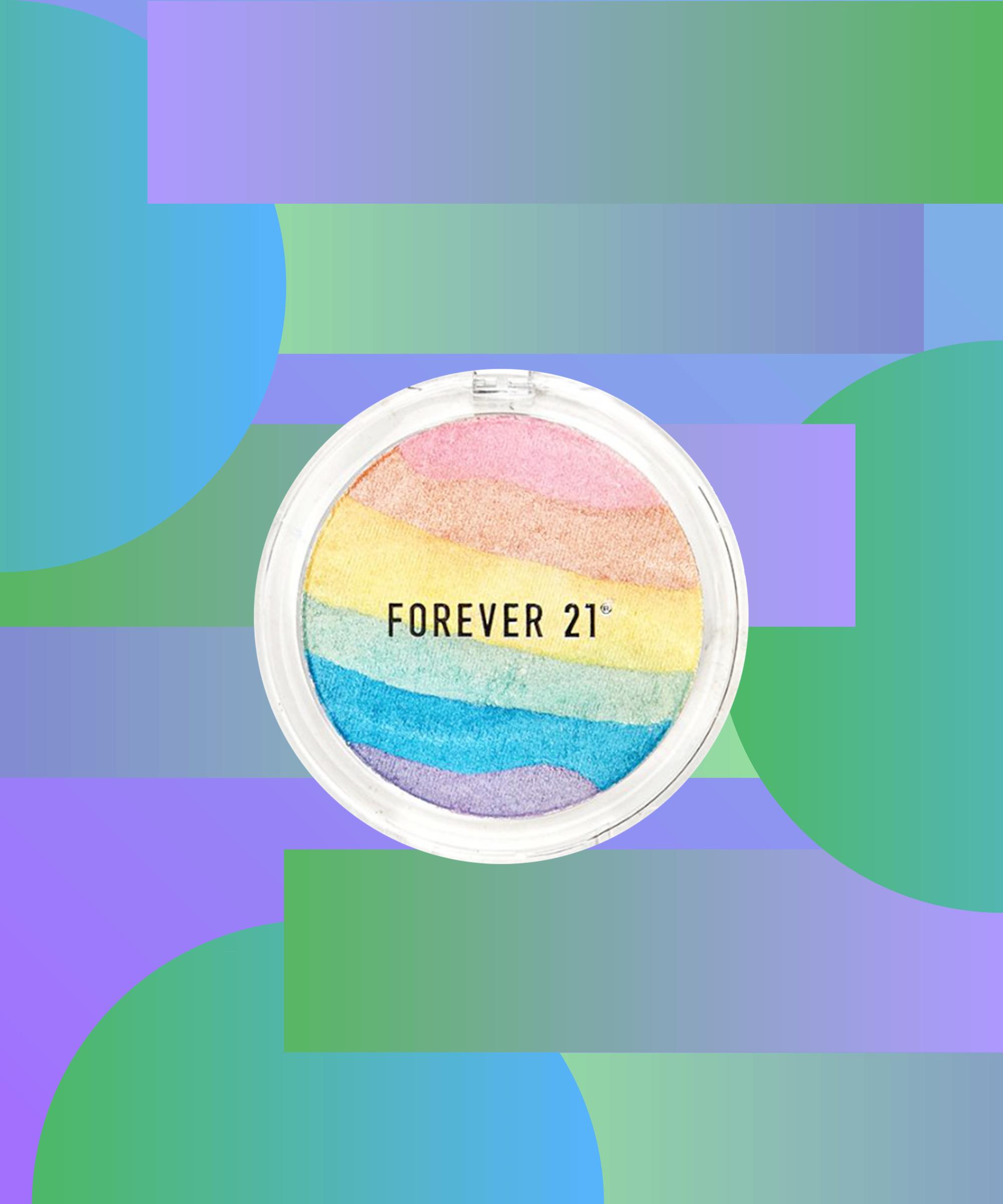Forever 21 Makeup Rainbow Highlighter