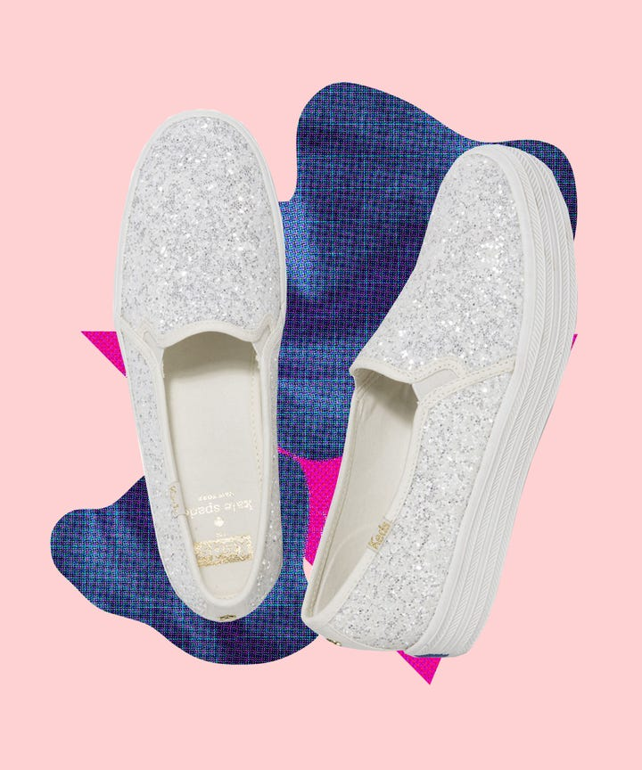 df339a64bda8 Who Doesn t Want To Wear Glittery Keds On Their Wedding Day  fashion
