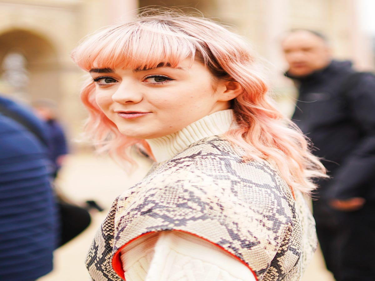 The Real Reason Maisie Williams Dyed Her Hair Pink Post-GoT