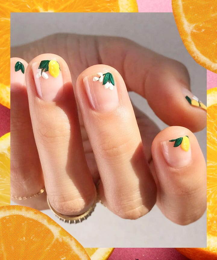 This Fruity Nail Art Trend Is Delightfully Refreshing - Fruit Nail Art Ideas, Summer Trend