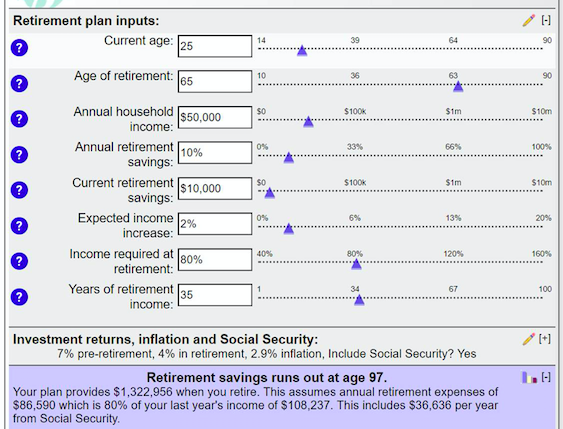 Marvelous A Few Notes On The Calculator. The Average American Retires Between Ages 61  And 65 U2014 With Most Holding Out Until 65 So They Can Take Full Advantage Of  ...