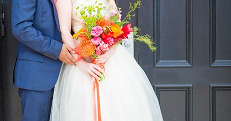 This Inspired Wedding Photo Shoot Is Full Of Bright Ideas