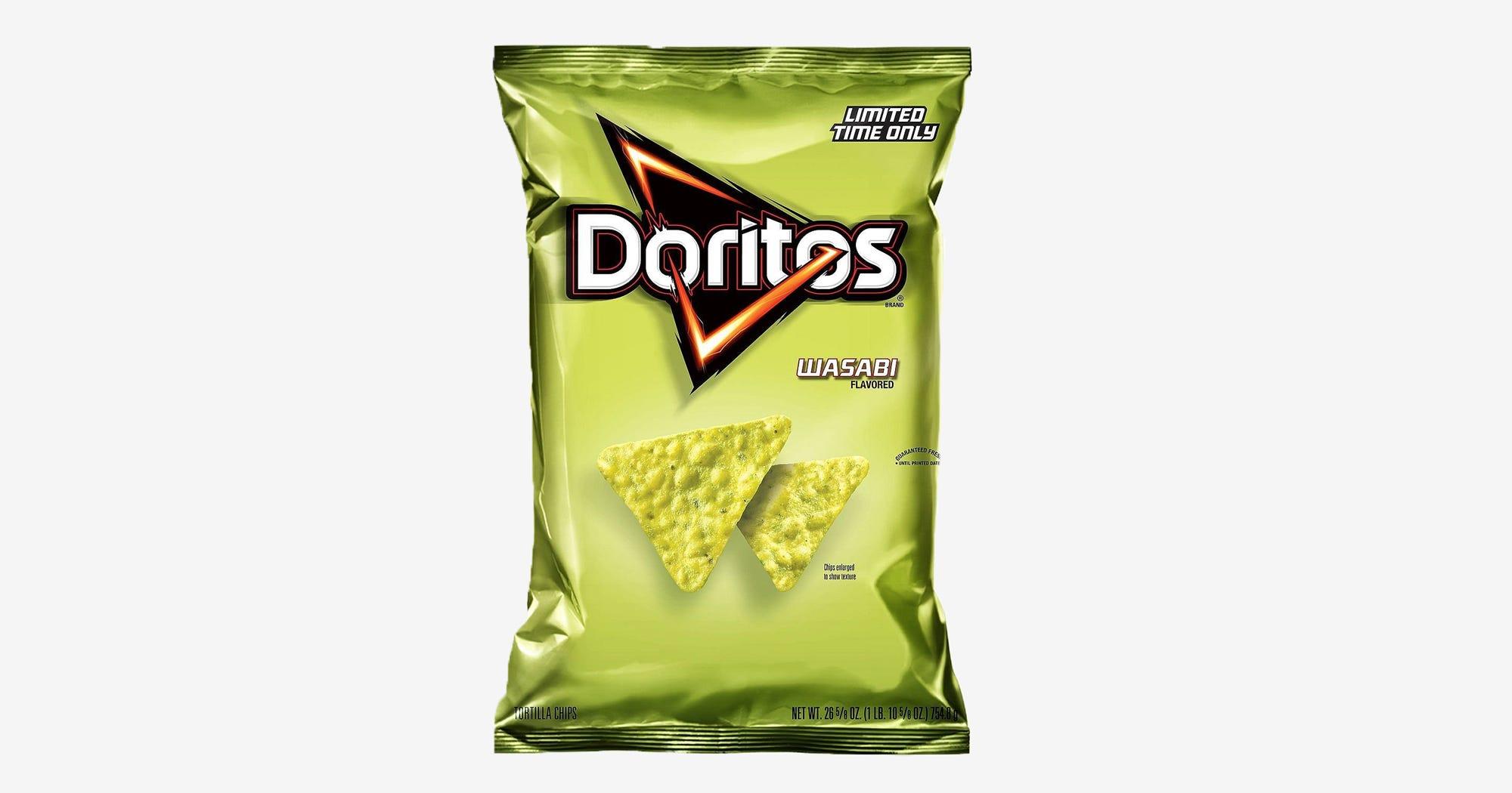 Wasabi Doritos Limited Edition New Flavor Walmart