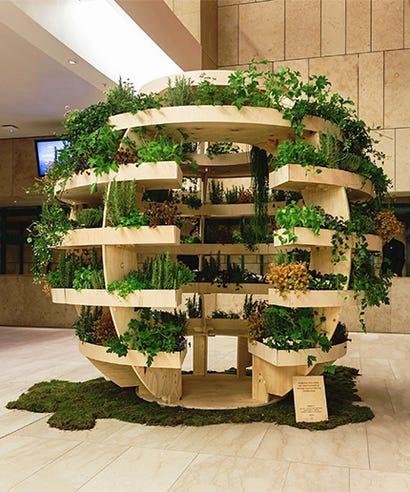 Diy urban garden space10 ikea indoor green space if you like ikea furniture youll love this ikea garden workwithnaturefo