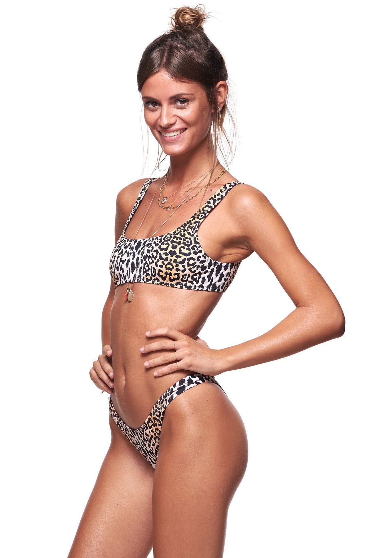 23aaeaab70821 Leopard Swimsuit Trend  Cute Bikinis   One-Pieces 2019