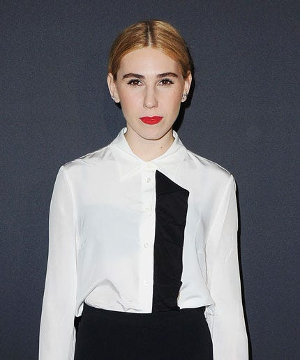 You Have To See Zosia Mamet S Alternative Wedding Dress On Vogue