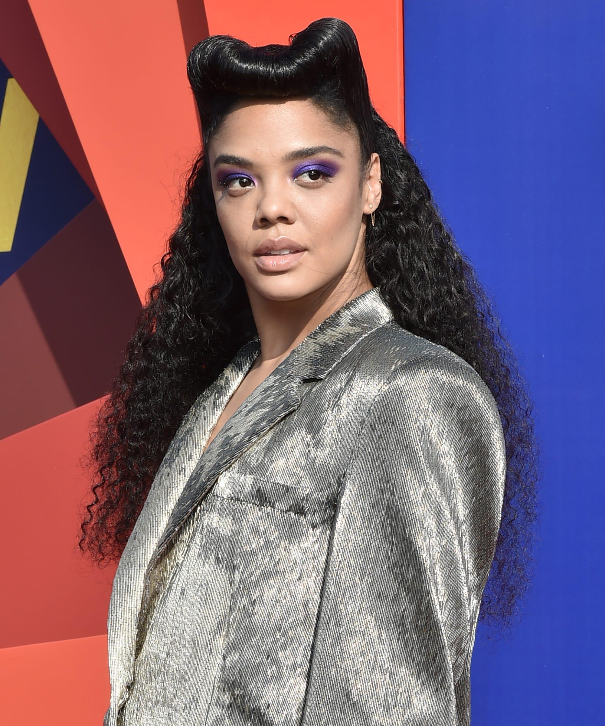 Tessa Thompson's MTV Movie & TV Awards Hairdo Is All About Girl Power